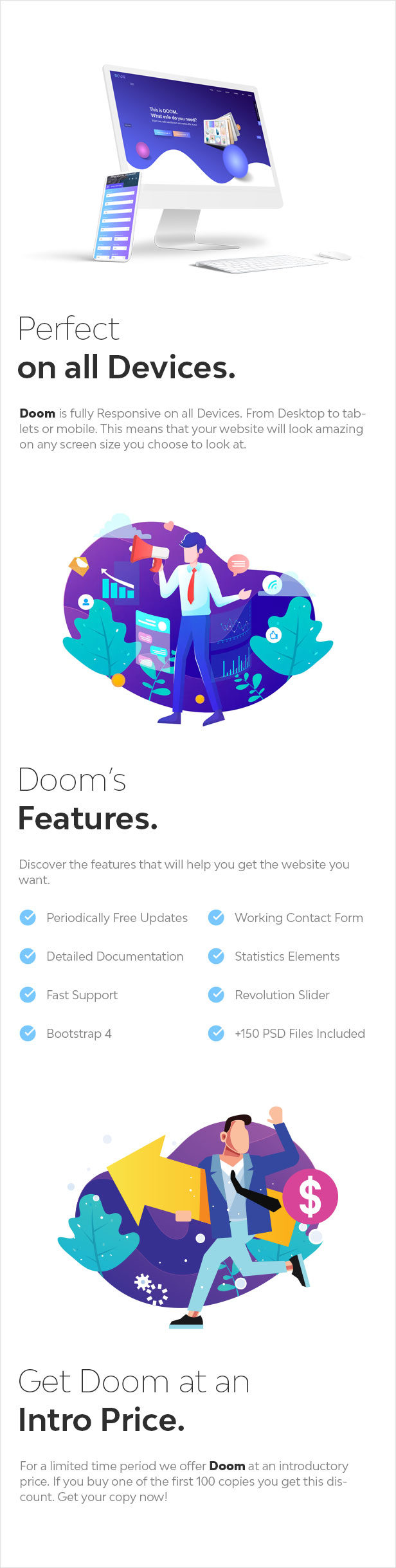 Doom - Multi-Purpose WordPress Theme - 5